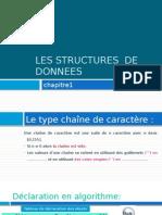 Les Structures de Données Pps