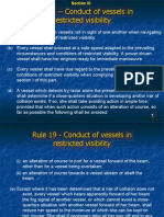 Rule 19 - Conduct of Vessels in Restricted