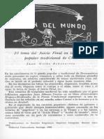 El Tema Del Juicio Final en La Poesía Popular Tradicional de Chile_Juan Uribe E.