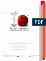 Brochure - Royal Systems®