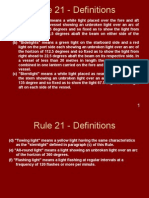 Rule 21 - Definitions