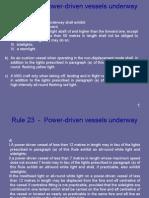 Rule 23  -  Power-driven vessel underway.pdf