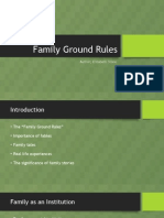 Family Ground Rules