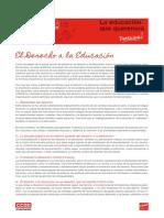 01 El Derecho a La Educacion