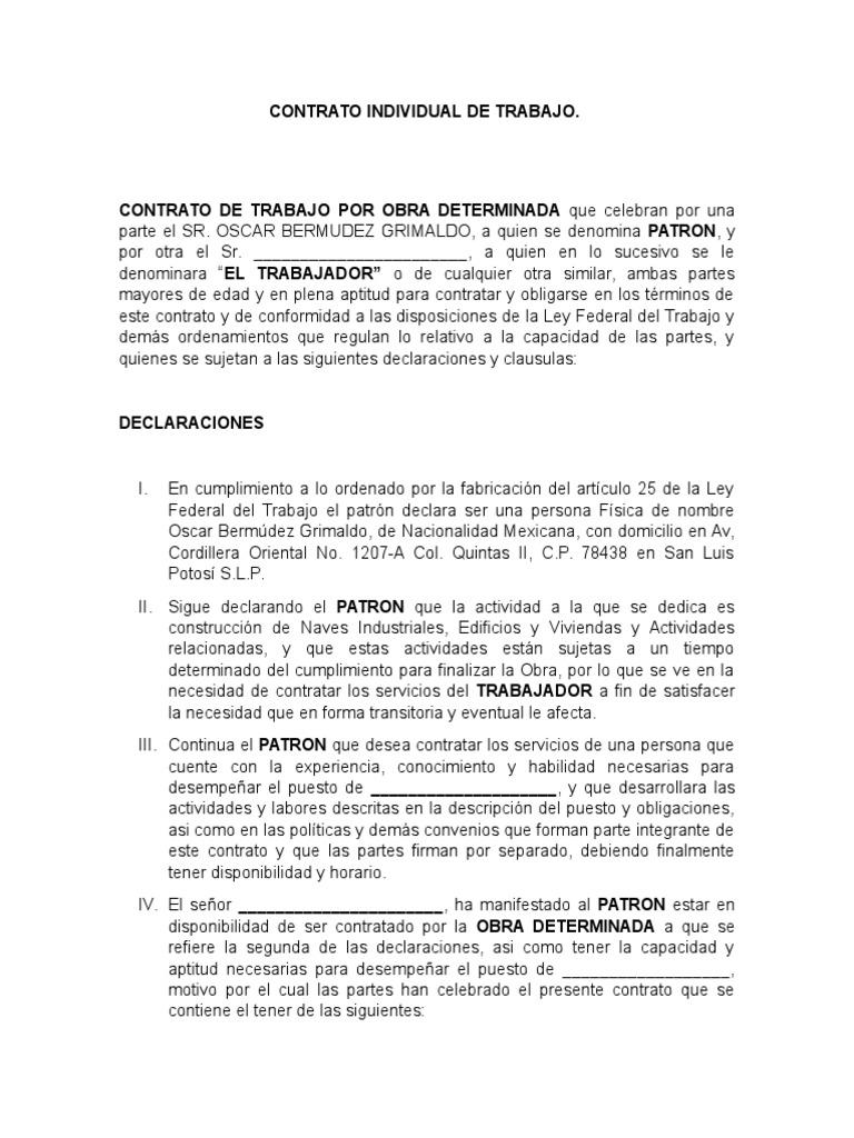 Contemporáneo Trabajador De La Construcción Reanudar Habilidades ...