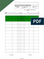 Registros Ejemplo de Un PLAN HACCP