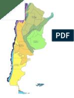 Argentina Provincias Fitogeográficas
