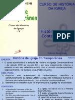 História Da Igreja Contemporânea - Aula 01