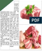 Carnea Şi Produsele Din Carne