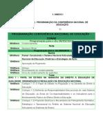 CONAE 2010 - Programação Oficial