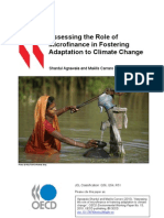 Assessing the Role of Micro Finance in Adaptation to Climate Change