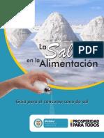 Guía Para El Consumo Sano de Sal
