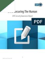 STH Security Awareness Report 2015