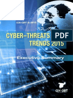 CCN CERT IA 09 15 Cyber Threats 2014 Trends 2015 Executive Summary