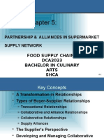 005 - Partnership and Alliances in Supermarket Supply Network