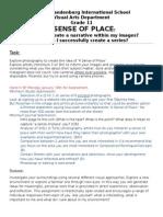a sense of place worksheet