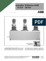 Catálogo Reconectador Trifasico ABB OVR