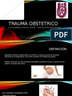 Trauma Obstetrico