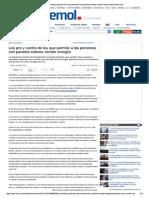 Casa-Los Pro y Contra de Ley ...Electricidad _ Emol