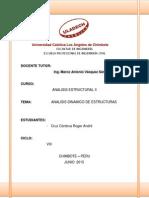 Monografia - Analisis Dinamico de Estructura
