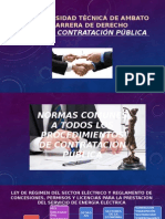 Contratación Pública del Ecuador