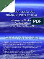Metodología Del Trabajo Intelectual i