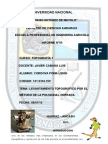 INFORME N° 5 LEVANTAMIENTO POR POLIGONAL CERRADA