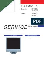 Samsung Lcd-monitor 941mp, 741mp Ch. Ls19doa, Ls17doa