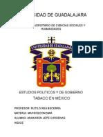 Tabaco en mexico