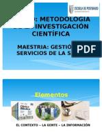 Sesión 1. Ciencia e Investigación Científica