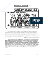 Manual para jugar paintball