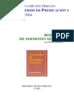 Bosquejos de Sermones Selectos Bmh 014