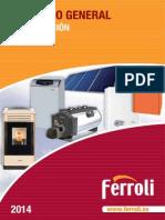 Catalogo Calefaccion Ferroli 2014