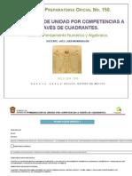 Planeación Didáctica Unidad Pensamiento Numérico y Algebraico Cilco 2014 - 2015