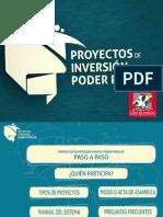 Como hacer Proyectos del Poder Popular