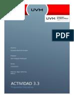 Actividad 3.3 propuesta educativa
