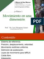 Semana 2 - Movimienton1D 2015-2