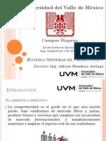Clase 1A Sistemas de Produccion I UVM-LX-0115