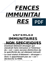 Defences Immunitaires