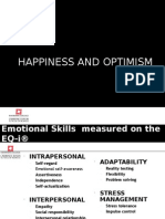 Week 8 - Happiness and Optimism 1HS12