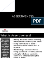 Week 13 - Assertiveness and Independence - 1HW12