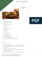 Gourmet, El Placer de Comer Bien » Cazuela de Vacuno