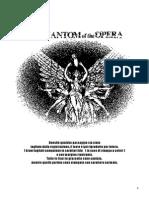 Il Fantasma Dell'Opera (Copione Integrale Ingl-ita)
