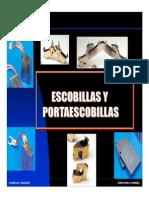 4.- Escobillas y Porta Escobillas