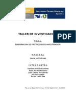 elaboracion de protocolo de titulacion