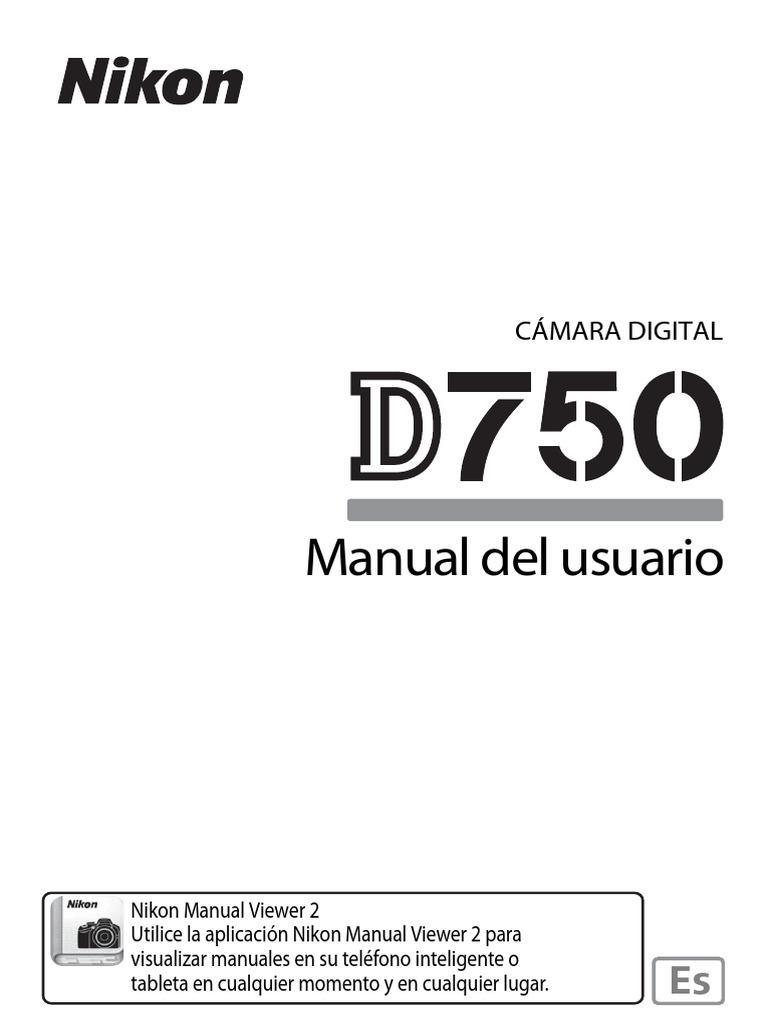 Manual Nikon D750