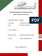Organismos Autónomos-uladech Piura 2015