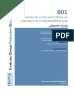 001 Atendimento Ao Paciente Vitima de Traumatismo Cranioencefalico Leve 07082014(1)