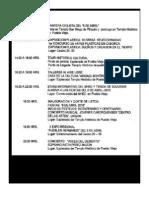 Programa del Festival Internacional Desierto y Cultura sin Fronteras