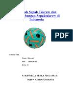 Sejarah Sepak Takraw Dan Perkembangan Sepaktakraw Di Indonesia II